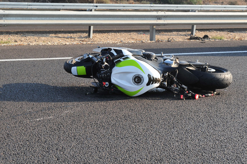 Motorbike Bicycle Road Accident
