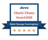 Avvo Client's Choice Award 2018