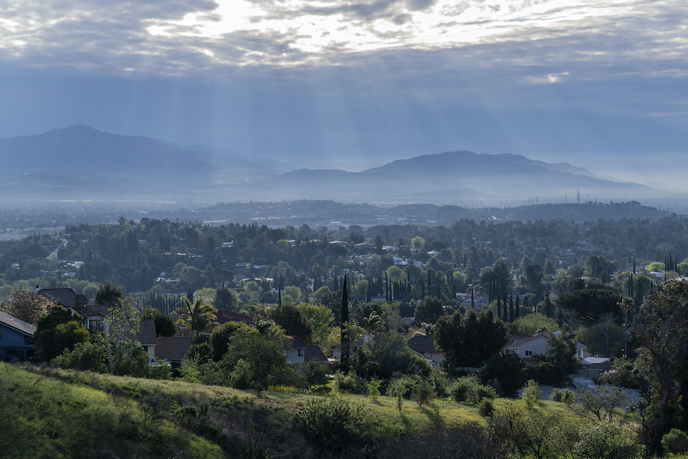 Granada Hills, CA, San Fernando Valley, Southern California
